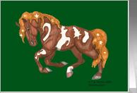 Christmas Symbols Horse