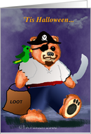 Halloween Teddy Bear Pirate