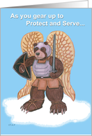 Angel Bear Serve and Protect