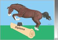 Diploma Jumping Horse