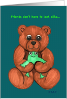 Friends Frog and Bear