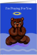 Have Faith Praying bear