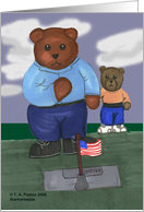 teddy bear fallen heroes USA