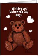 teddy bear valentine hugs