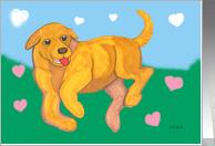 Labrador Love Valentine