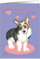 Valentine Puppy Love