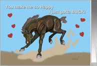 Bucking Horse Valentine